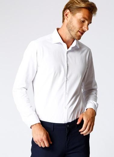 Kip Kip Regular Fit  Beyaz Gömlek Beyaz